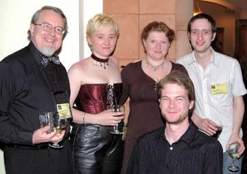 Edward James, Stacie Hanes, Farah Mendlesohn, A.P. Canavan, and Ben Little