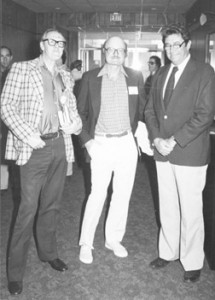 Brian Aldiss, John Barth, and Jack Suberman